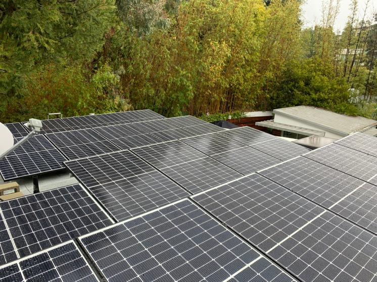Alex's Solar and Battery Installation in Hollywood Hills
