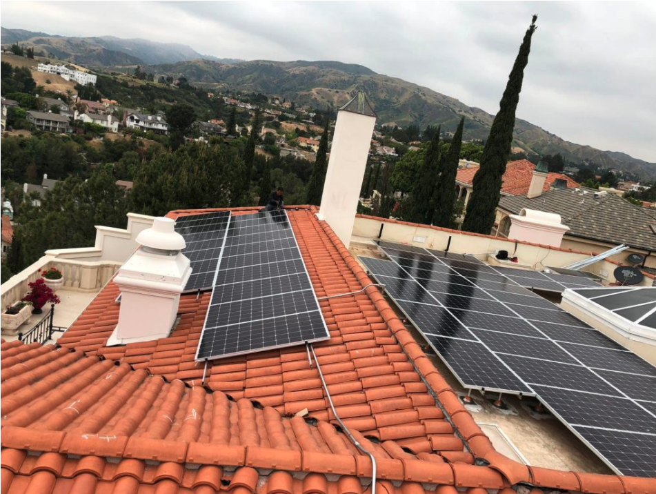 Solar On Tile in Pasadena