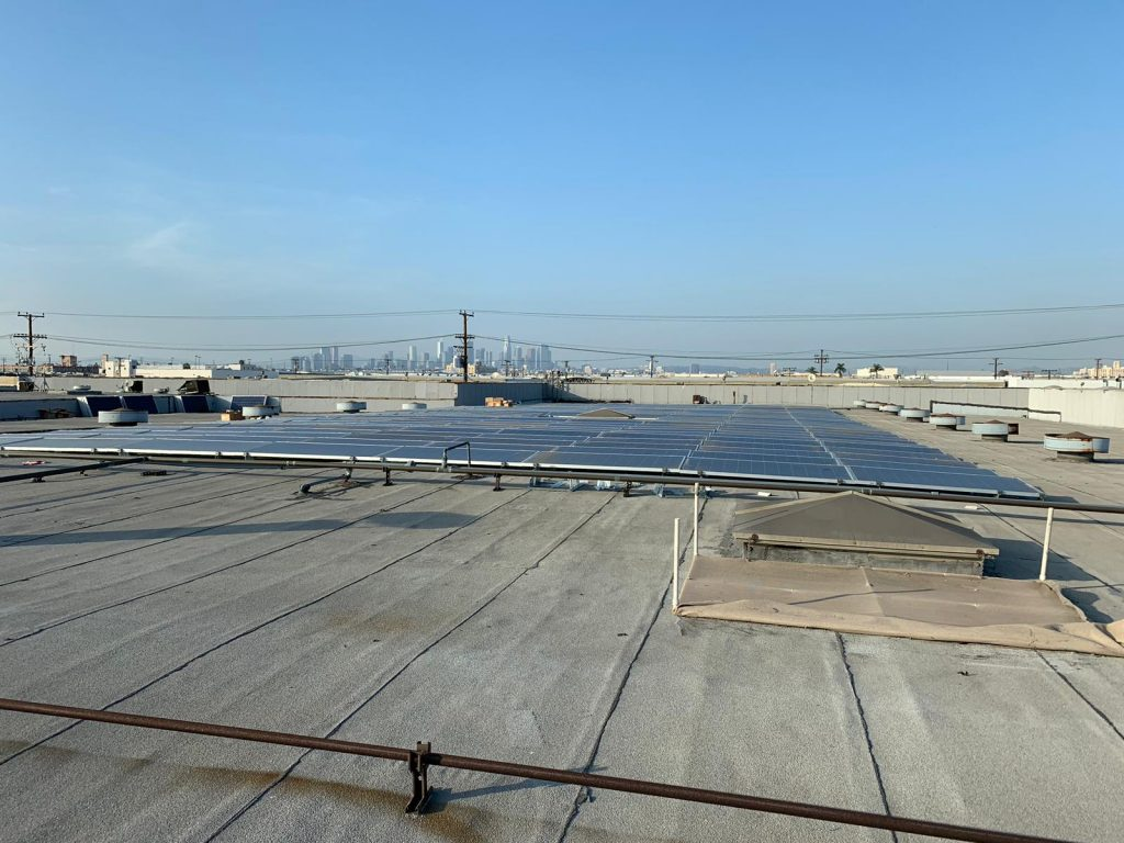 Solar System installation on a commercial property in Miracle Mile