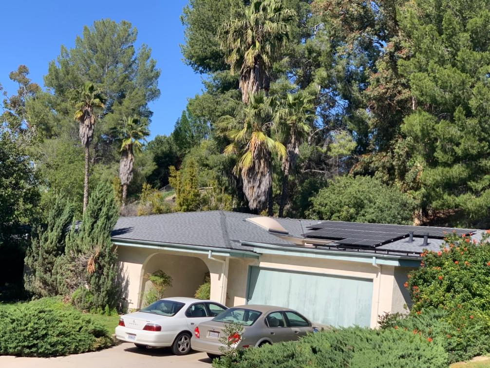 Suzan's Roof and Solar Project in West Hills