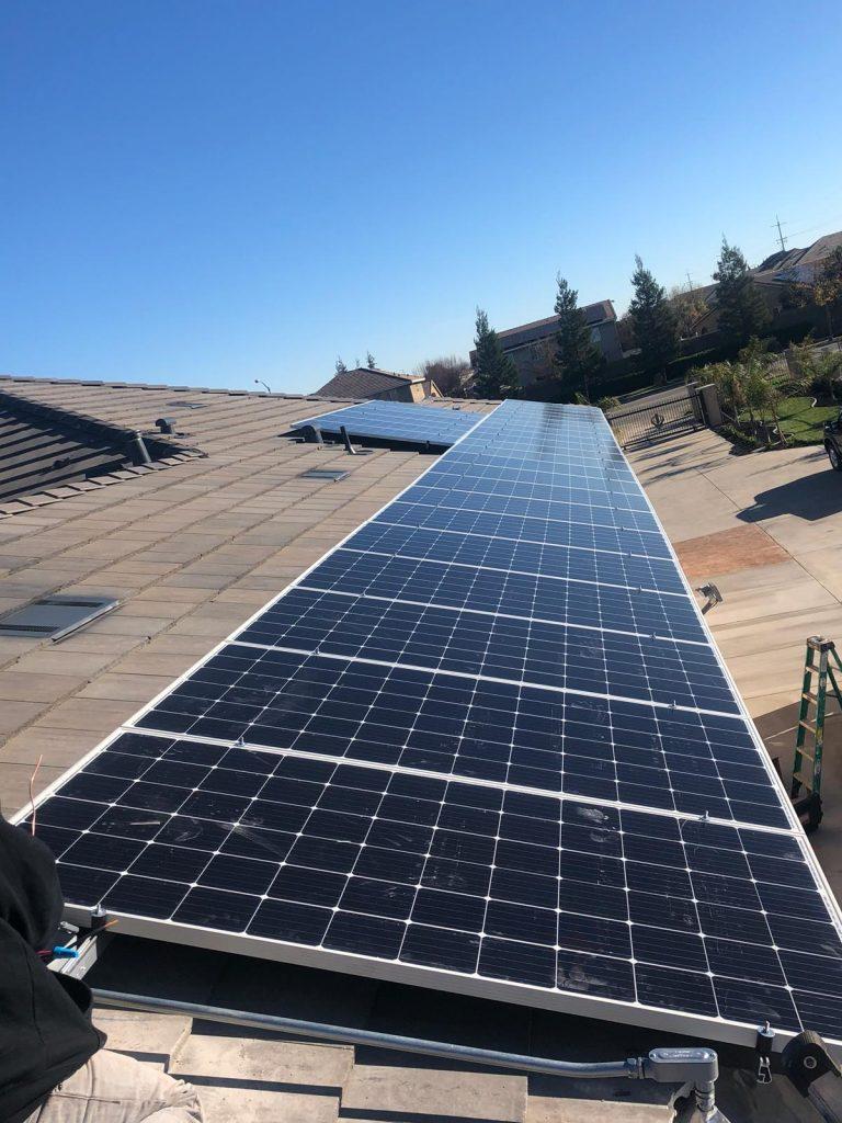 Solar Installation in Van Nuys