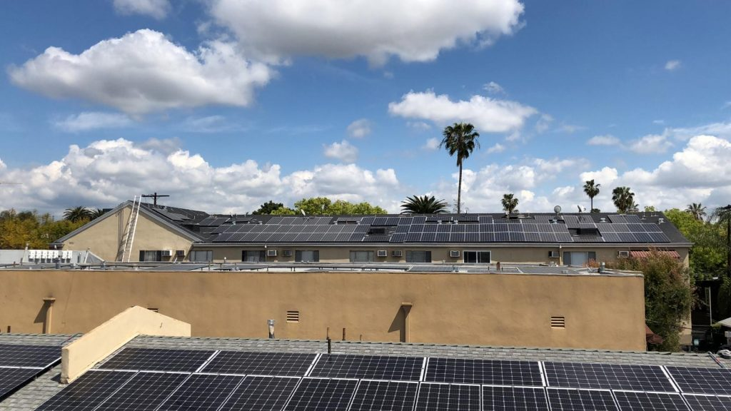 Solar Installation in an Apartment building in Monrovia