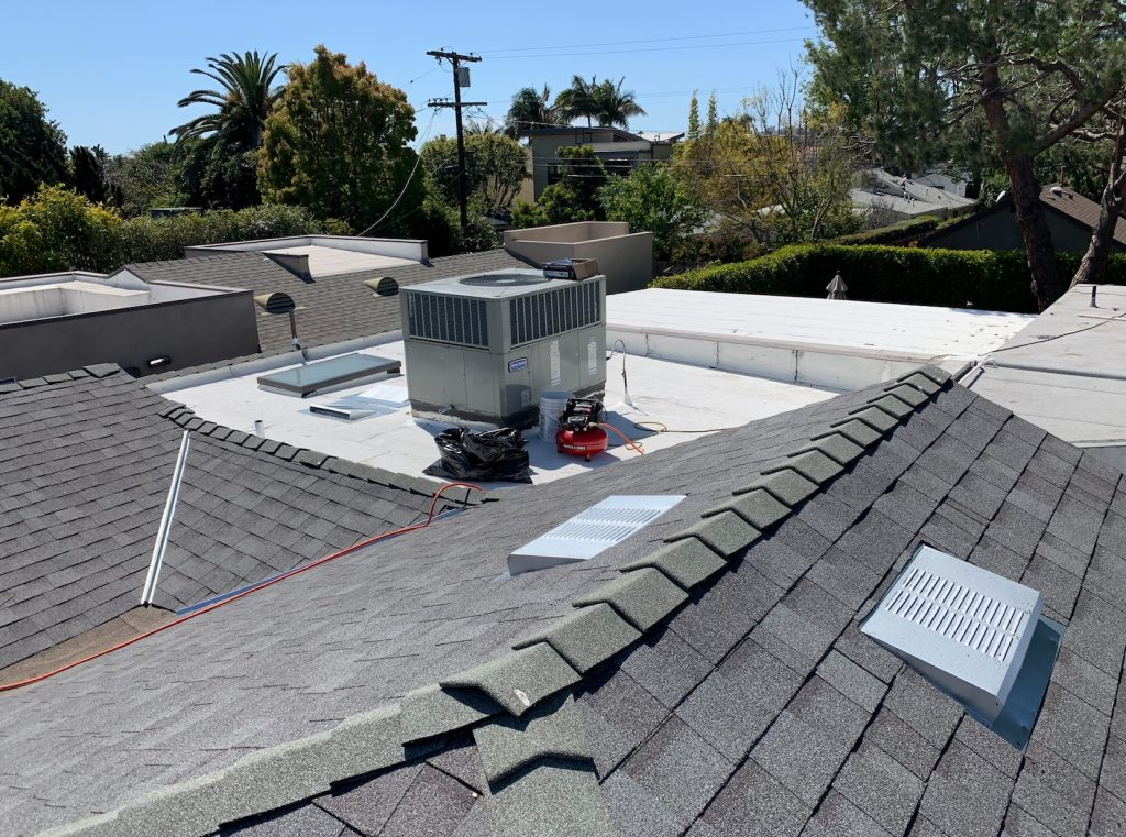 Solar Installation and Roof Replacement in Hancock Park