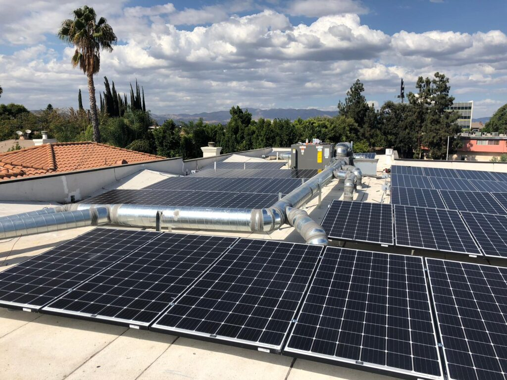 Commercial Solar installation and HVAC los Angeles