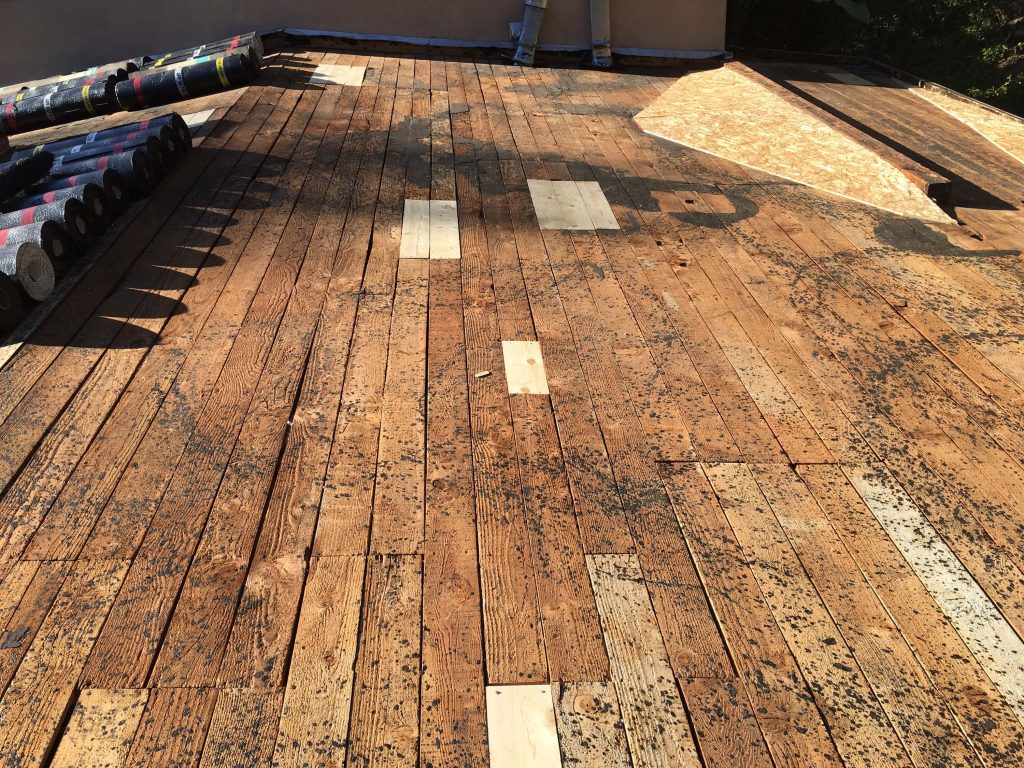 Flat Roof Replacement in Hollywood Hills