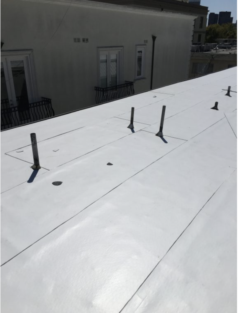 Flat Roof Replacement for a Condominium in Beverly Hills